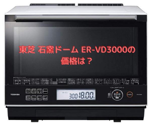 ER-VD3000の価格は?